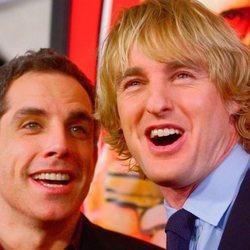 Ben Stiller y Owen Wilson en la proyección de Starsky y Hutch en 2004