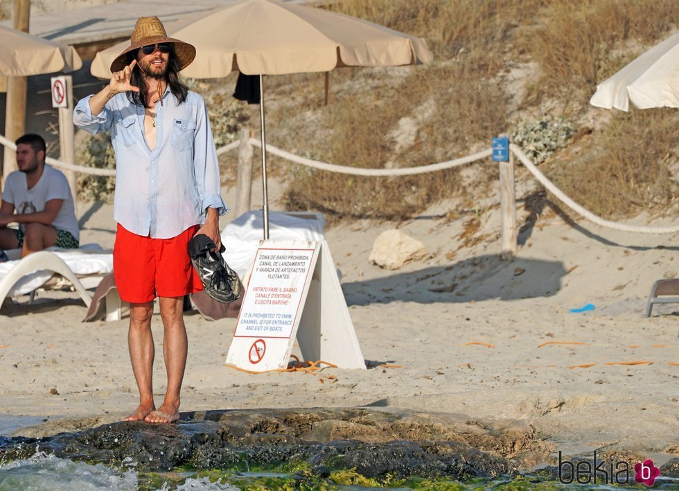 Jared Leto mini vacaciones por Ibiza