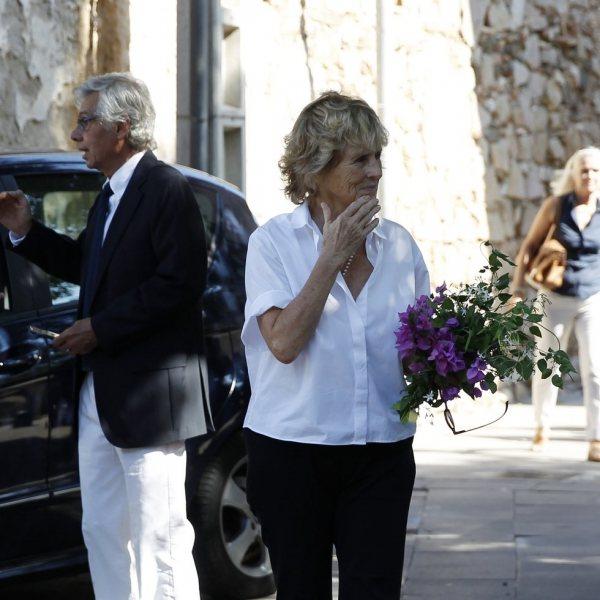Funeral de la madre de Mercedes Milá