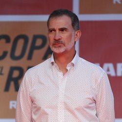El Rey Felipe en la entrega de trofeos de la Copa del Rey de Vela 2019
