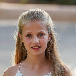 La Princesa Leonor en su posado de verano 2019 en Marivent