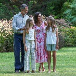La Familia Real en su posado de verano 2019 en Marivent
