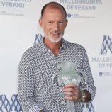 Kyril de Bulgaria recibiendo el premio a 'Mallorquín del Año'
