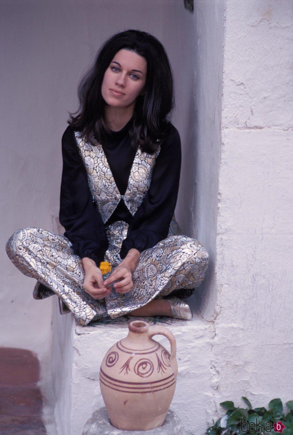 Natalia Figueroa en los años setenta