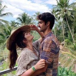Andrea Duro y Juan Betancourt de vacaciones en Bali