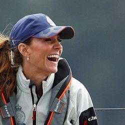 Kate Middleton en las regatas de la Copa del Rey de Cowes