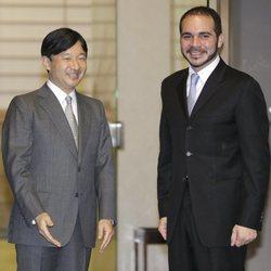 El Príncipe Ali Bin Al-Hussein en una recepción oficial de Naruhito de Japón en 2010