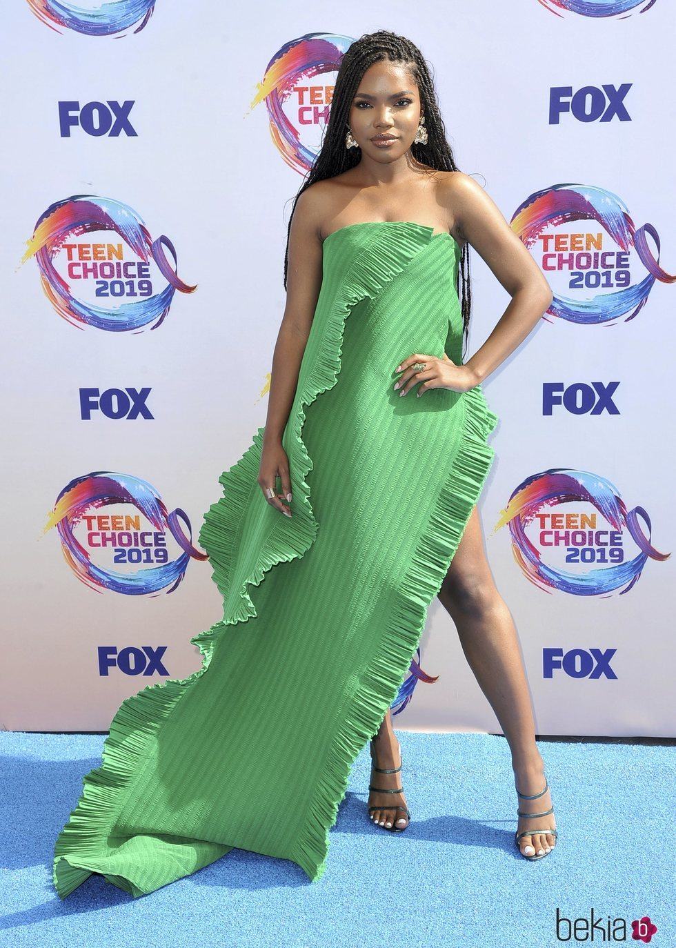 Ryan Destiny en los Teen Choice Awards 2019