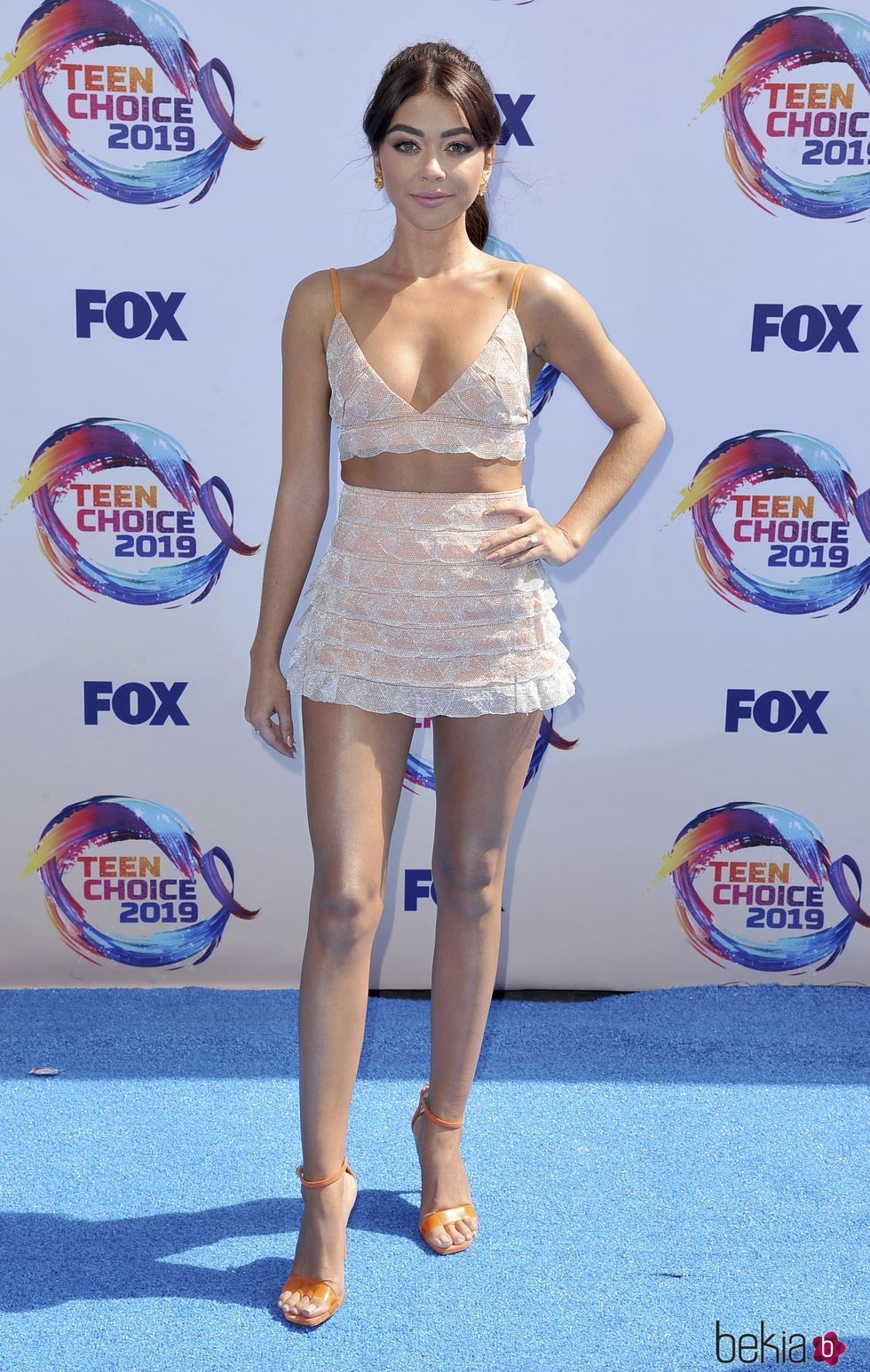 Sarah Hyland en los Teen Choice Awards 2019