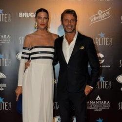 Laura Sánchez y David Ascanio en la Gala Starlite 2019 en Marbella