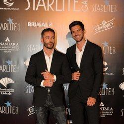 Pelayo Díaz y su marido en la Gala Starlite 2019 en Marbella