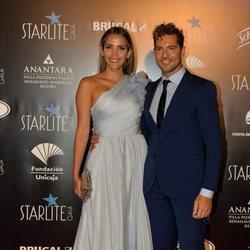 David Bisbal y Rosanna Zanetti en la Gala Starlite 2019 en Marbella