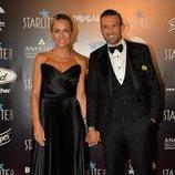 Luján Argüelles y su marido en la Gala Starlite 2019 en Marbella