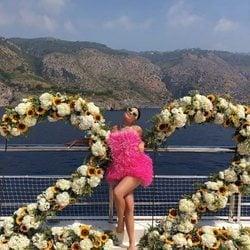 Kylie Jenner celebra su 22 cumpleaños a bordo de un yate de lujo con el que recorre la costa de Italia y del sur de Francia