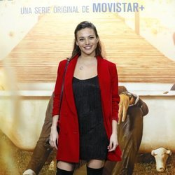 Elisa Mouliaá en la presentación de 'El embarcadero'