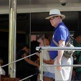 Alberto de Mónaco viaja hasta Croacia en solitario