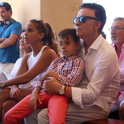 Gloria Camila junto a su Ortega Cano en la semana cultural de Rocío Jurado 2019