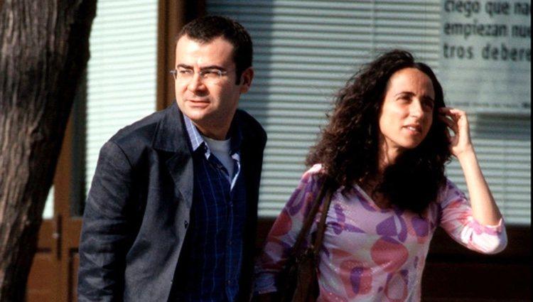 Jorge Javier Vázquez y María Patiño jóvenes