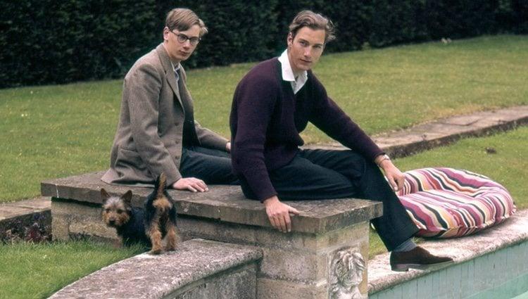 El Príncipe Guillermo de Gloucester y el Príncipe Ricardo de Gloucester, Duque de Gloucester