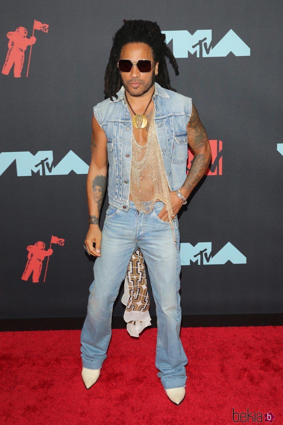 Lenny Kravitz en los MTV VMAs 2019