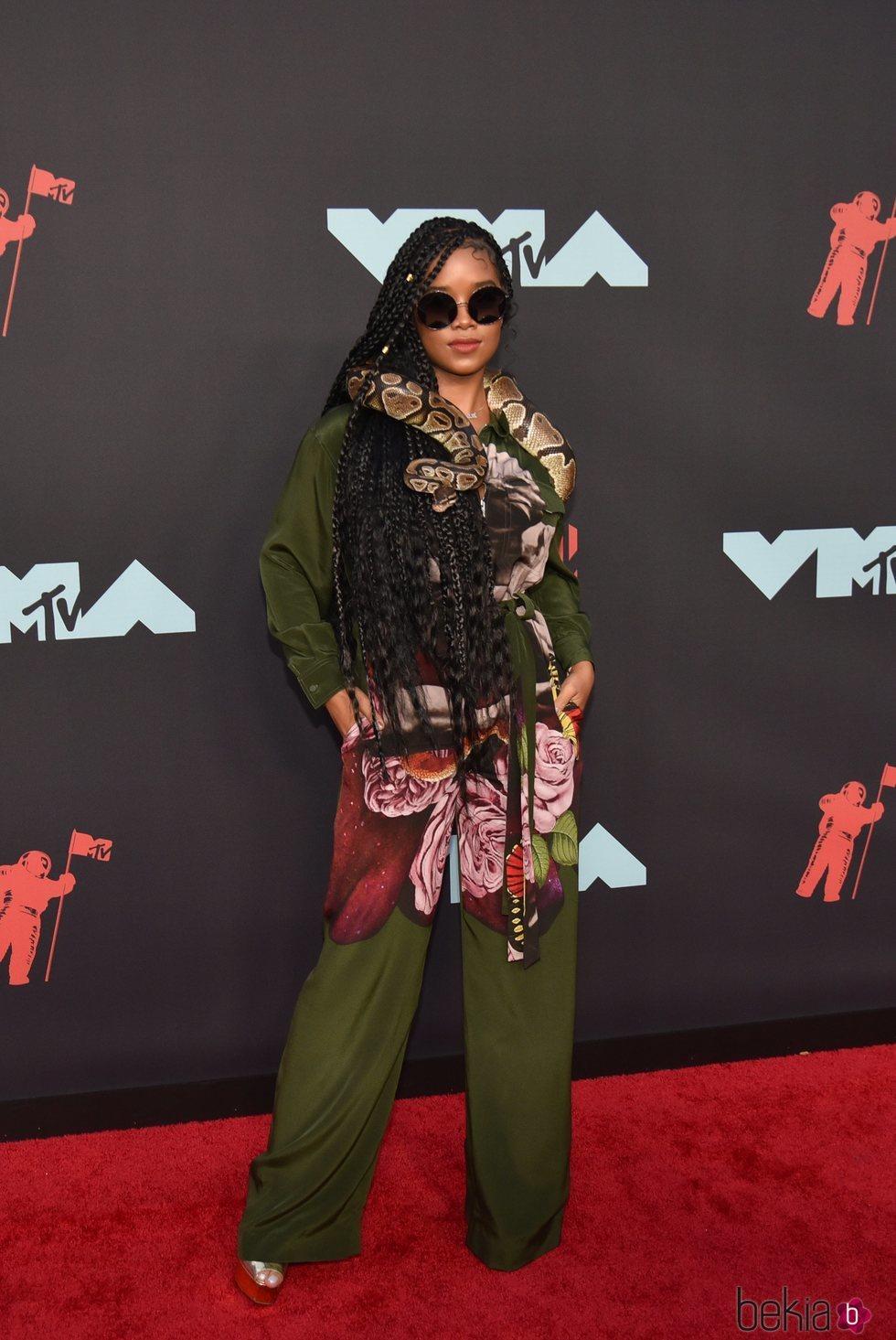 H.E.R en los MTV VMAs 2019