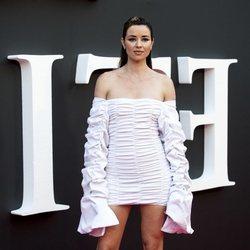 Dafne Fernández en el estreno de la segunda temporada de 'Élite'