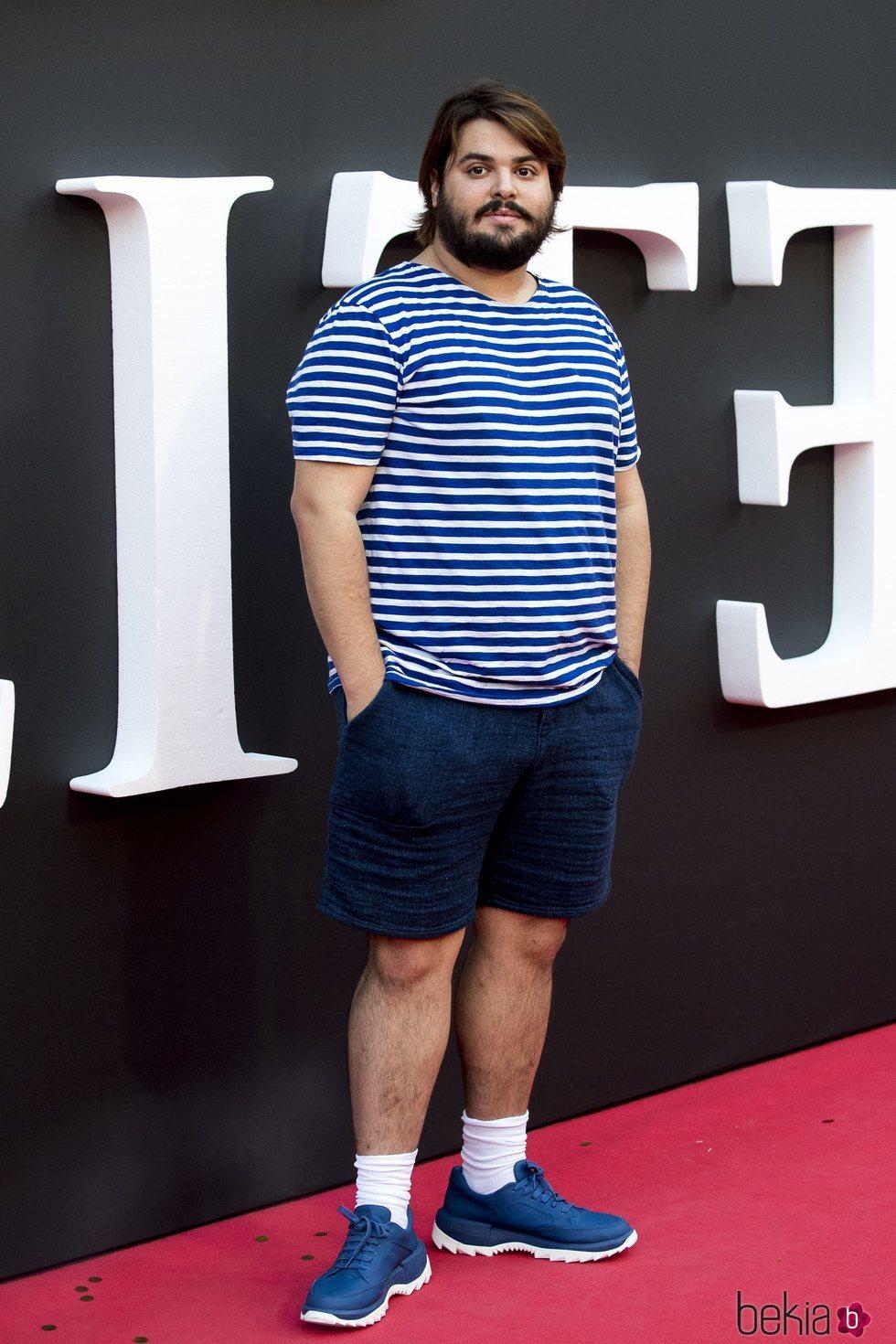 Brays Efe en el estreno de la segunda temporada de 'Élite'