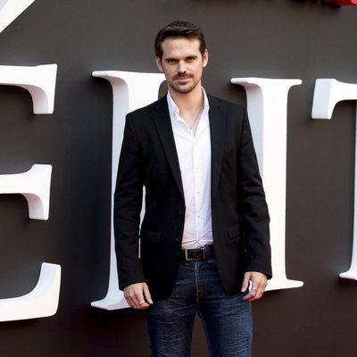 Gonzalo Ramos en el estreno de la segunda temporada de 'Élite'