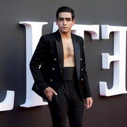 Omar Ayuso en el estreno de la segunda temporada de 'Élite'