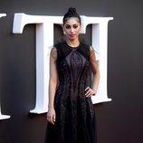 Mina El Hammani en el estreno de la segunda temporada de 'Élite'