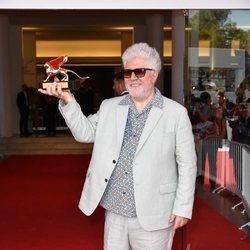 Pedro Almodóvar recibe el León de Oro de Honor en la Mostra de Venecia 2019