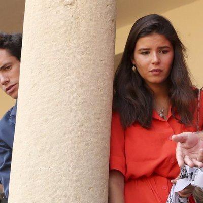 Tana Rivera y su novio Quique González de Castejón en la Goyesca de Ronda 2019