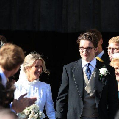 Ellie Goulding y Caspar Jopling recién casados
