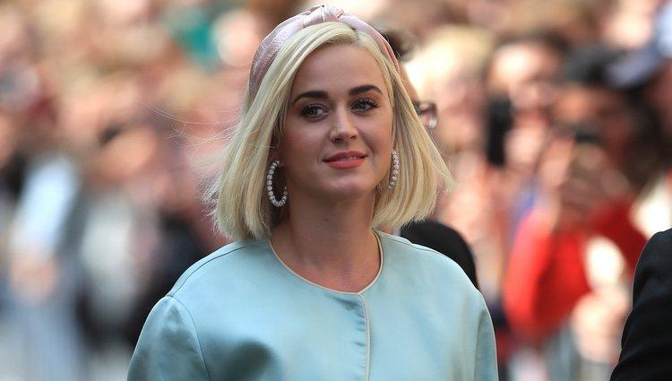 Katy Perry en la boda de Ellie Goulding