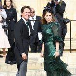 Beatriz de York y Edoardo Mapelli Mozzi en la boda de Ellie Goulding y Caspar Jopling