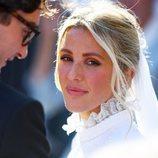 Ellie Goulding en el día de su boda