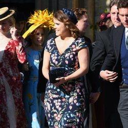 Beatriz de York en la boda de Ellie Goulding y Caspar Jopling