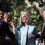 Katy Perry y Orlando Bloom en la boda de Ellie Goulding