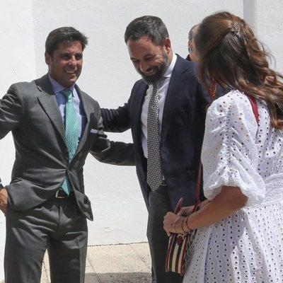 Fran Rivera, Santiago Abascan y Lourdes Montes en la Goyesca de Ronda 2019