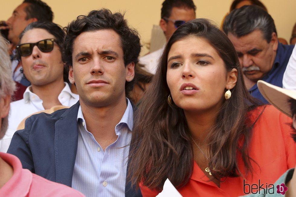 Cayetana Rivera junto a su novio Quique González de Castejón en la Goyesca de Ronda 2019