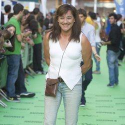 Blanca Fernández Ochoa en la presentación de un programa en el Festival de Vitoria 2012