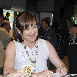 Blanca Fernández Ochoa en un campeonato de mus en 2010