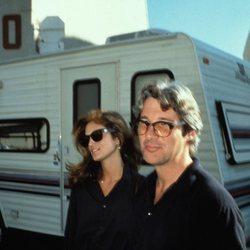 Richard Gere y Cindy Crawford cuando estaban casados