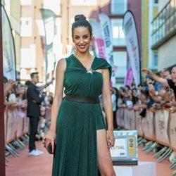 Almudena Cid en la presentación de 'MasterChef Celebrity 4' en el FestVal 2019