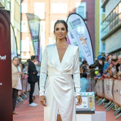 Elena Furiase en la presentación de 'MasterChef Celebrity 4' en el FestVal 2019