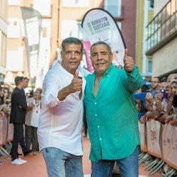Los Chunguitos en la presentación de 'MasterChef Celebrity 4' en el FestVal 2019