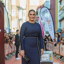 Vicky Martín Berrocal en la presentación de 'MasterChef Celebrity 4' en el FestVal 2019