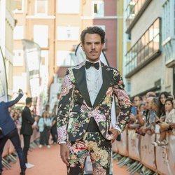 Juan Avellaneda en la presentación de 'MasterChef Celebrity 4' en el FestVal 2019
