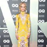 Nicole Kidman en la alfombra roja de los premios GQ 2019