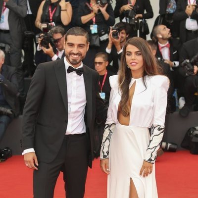 Fabio Colloricchio y Violeta Mangriñán en el Festival de Venecia 2019